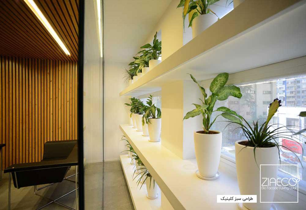 طراحی سبز کلینیک